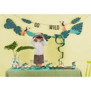 Feesttoeters Go Wild (4st) Meri Meri