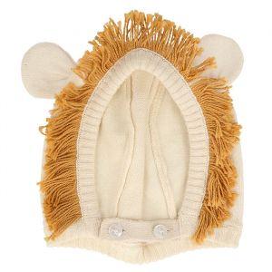 Baby bonnet leeuw (0-6m) Meri Meri