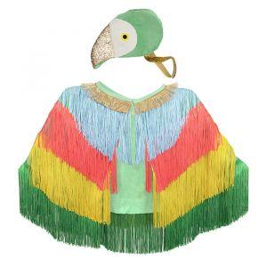 Verkleedset papegaai Meri Meri