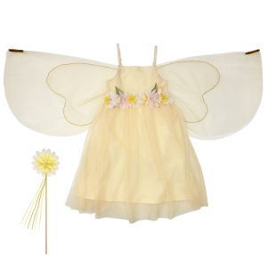 Verkleedset bloemenfee (5-6 jaar) Meri Meri