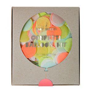 Confetti Ballonnen Neon DIY pakket Meri Meri
