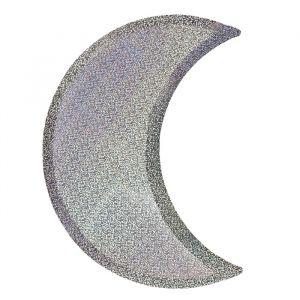 Borden maan sparkling zilver (8st) Meri Meri