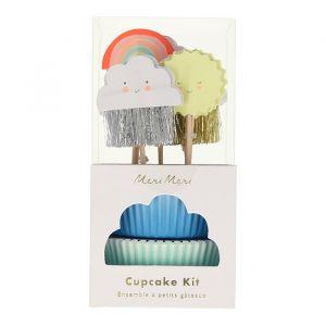 Cupcake kit Happy Weather Meri Meri