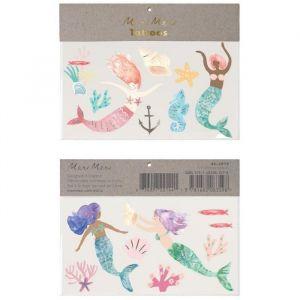 Plaktattoos Mermaid Tail Meri Meri