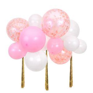 Ballonpakket roze wolk Meri Meri
