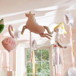 Folieballon zeemeermin (1st) Let's be Mermaids Meri Meri