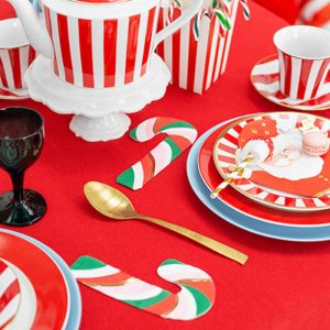 Servetten candy cane (20st) Classic Christmas