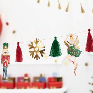 Slinger kerst notenkraker Classic Christmas