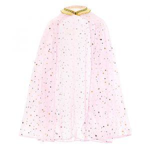 Prinsessencape roze-goud (3-7 jaar)