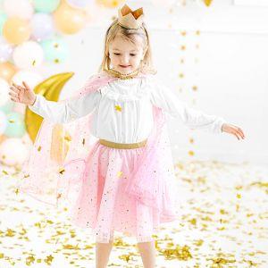 Prinsessenrokje roze-goud (3-7 jaar)
