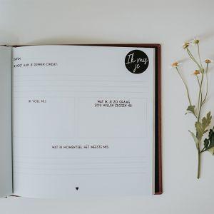 Herinneringsboek Ik mis je Memories of You