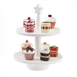 Houten taartjes en cupcakes (9st) Kids Concept