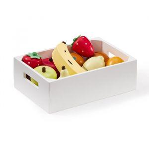 Houten kistje met fruit Kids Concept