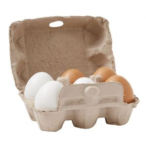 Houten eieren Bistro (6st) Kids Concept