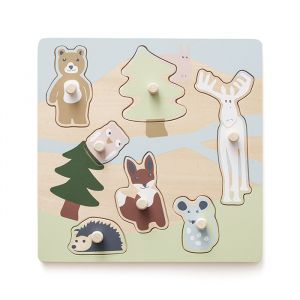 Houten puzzel Edvin Woodland Kids Concept