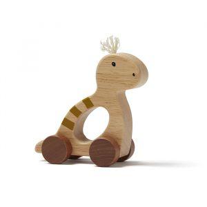 Houten trekdiertje NEO Dino nature Kids Concept