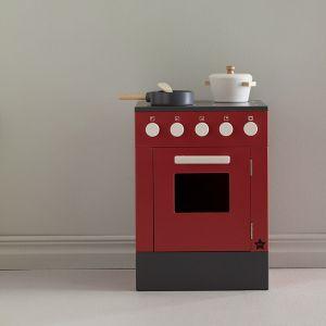 Houten oven Bistro firebrick Kids Concept