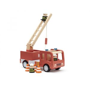 Houten brandweerwagen Aiden Kids Concept