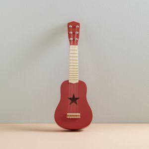 Houten gitaar firebrick Kids Concept