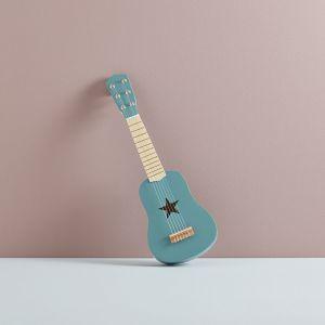 Houten gitaar groen Kids Concept