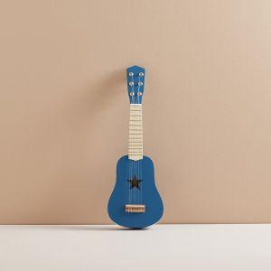 Houten gitaar blauw Kids Concept