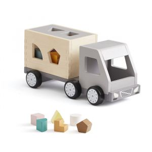 Houten sorteervrachtwagen Aiden Kids Concept