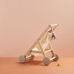 Houten wandelwagen nature Kids Concept