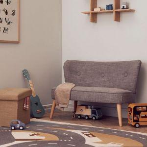 Kinderbankje Sofa grey Kids Concept
