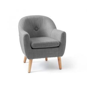 Kinderstoel grijs Kids Concept