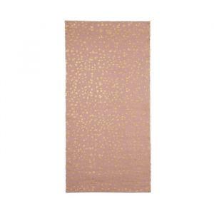 Vloerkleed Dottie roze-goud KidsDepot