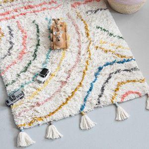 Vloerkleed Berber pastel (80x150cm) KidsDepot