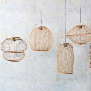 Bamboe hanglamp Luiz naturel KidsDepot
