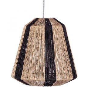 Jute hanglamp Ven zwart-naturel KidsDepot