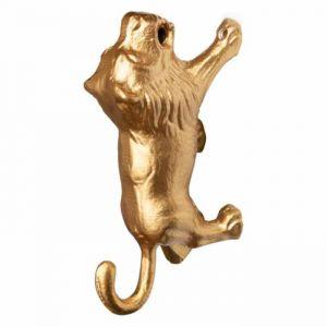 Wandhaak Lino leeuw goud KidsDepot