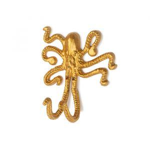 Wandhaak Okki octopus goud KidsDepot
