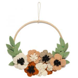 Decoratiehanger vilten bloemen KidsDepot