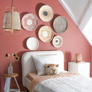 Muurdecoratie bord Elvi roze KidsDepot