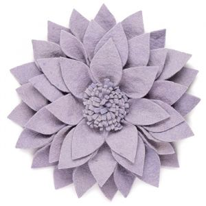 Muurdecoratie bloem Kuba lila KidsDepot