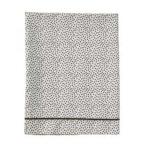 Wieglaken Cozy Dots offwhite Mies & Co