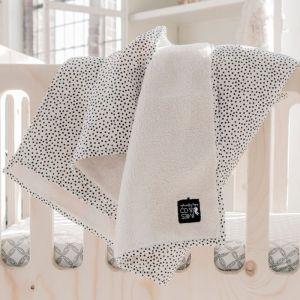 Deken Soft Teddy Ledikant Cozy Dots offwhite Mies & Co