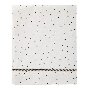 Wieglaken Adorable Dot offwhite Mies & Co