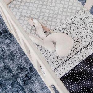 Ledikantlaken Cozy Dots offwhite Mies & Co