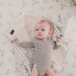 Hoeslaken ledikant Little Dreams offwhite Mies & Co