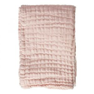 Babydeken Soft Mouseline Soft Pink Mies & Co