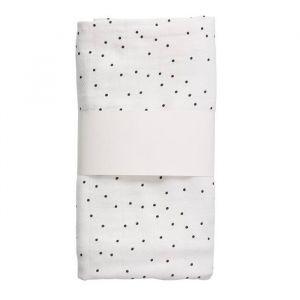 Hydrofiele doek XL Adorable Dot offwhite Mies & Co