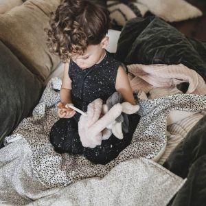 Babydeken Soft Teddy Wild Child offwhite Mies