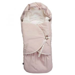 Voetenzak Pretty Pearls chalk pink Mies & Co