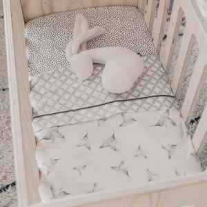 Deken Soft Teddy Ledikant Little Dreams offwhite Mies & Co