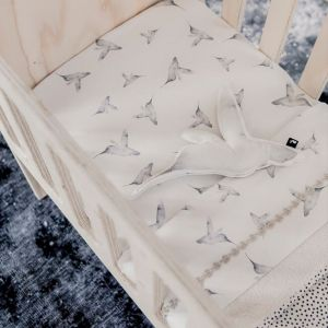 Ledikantlaken Little Dreams offwhite Mies & Co