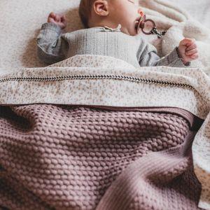 Babydeken gebreid Rosewood Mies & Co